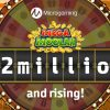 Mega Moolah Jackpot passes $12 Million Milestone And Continues To Grow