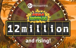 Mega Moolah Jackpot passes $12 Million Milestone And Continues To Grow