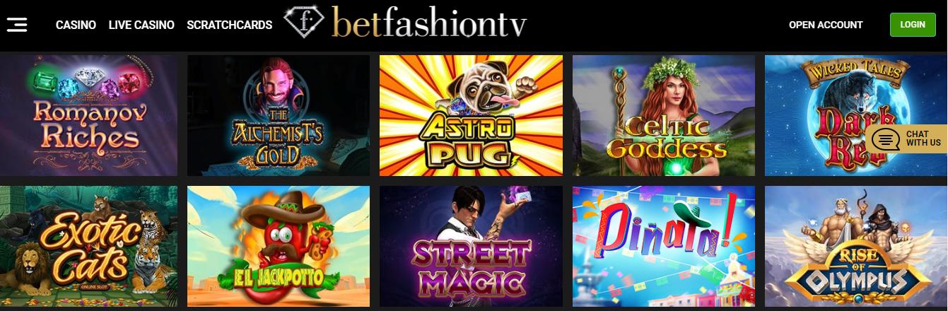 bet fashiontv casino