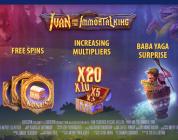 Ivan and the Immortal King New Slot at Night Rush Casino
