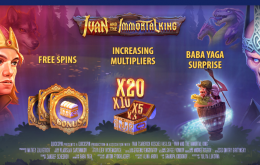 Ivan and the Immortal King New Slot at Night Rush Casino