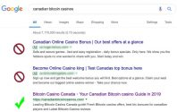 Real bitcoin casino – how to find in google