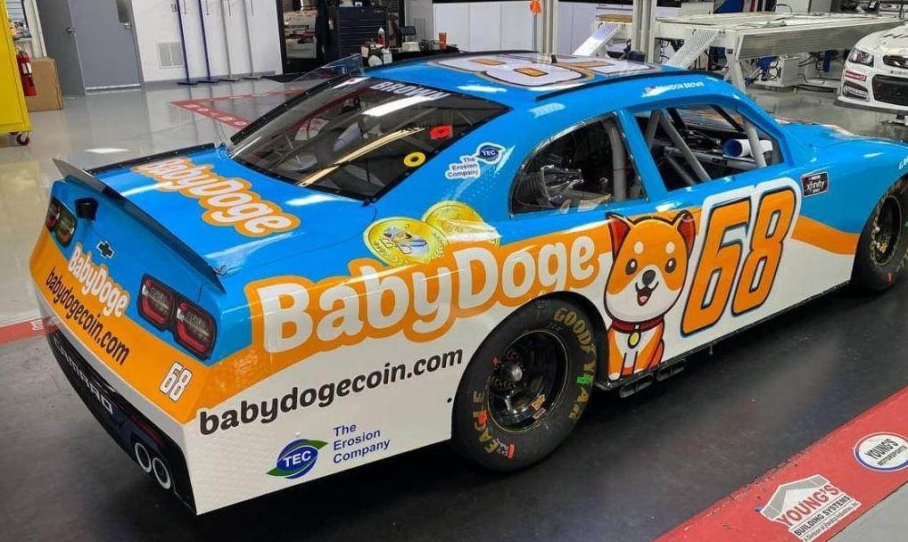 babydoge coin nascar