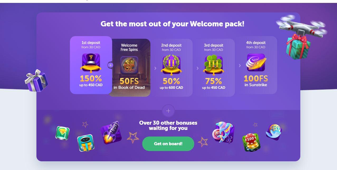 trueflip welcome bonus