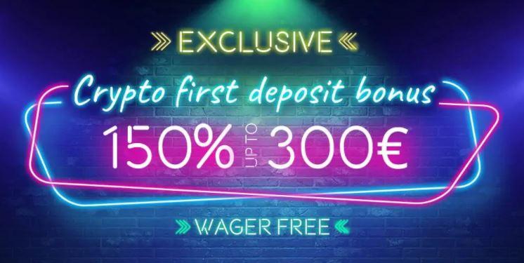 vegaz casino wager free bonus